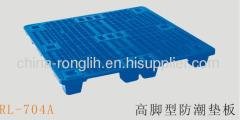 Damp proof plastic pallets