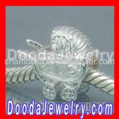 cheap european sterling silver baby carriage charms
