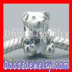 925 sterling silver Tous Bear charms bead wholesale