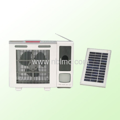 multifunctional solar fan