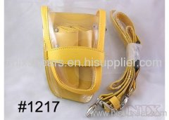 Stylish Yellow Color Leather&Plastic Scissor Holster