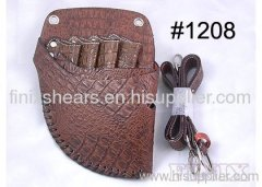 Superior Light Coffee Color Stylish Leather Scissor Holster