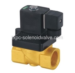 Servo-assisted Solenoid Valve