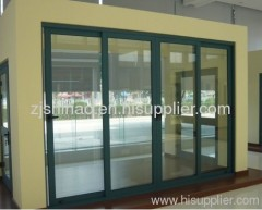 Thermal break exterior door