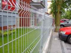 Black Iron Wire Mesh Fence Mesh
