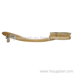 long handle pig hair bath brush