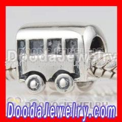 european Sterling Silver Bus Charms Wholesale