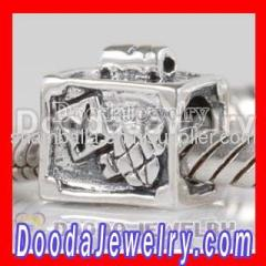 Cheap european Silver Perfume Bottle Charms Beads