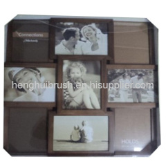 plastic 9 opening picture frame