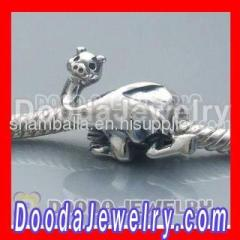 2012 Silver european Camel Charms Beads