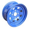 blue rims for Golf carts