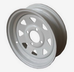 12~13 inch Trailer wheel rims with 8 spokes