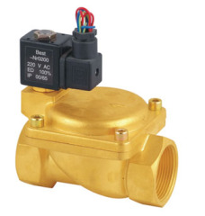 2 Way Solenoid Valve Brass