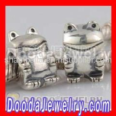 2012 european Silver Frog Charms