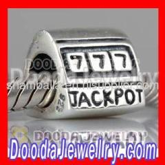 Silver european JACKPOT Charms
