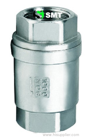 thread vertical rising check valve