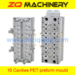 plastic preform injection mould