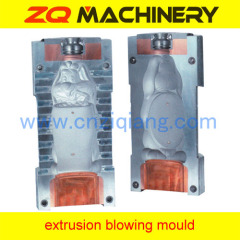 extrusion blowing bottle mold