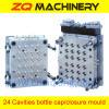 Plastic bottle cap mould - 24 Cav