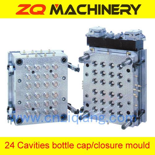 plastic cap closure mould plastic bottle cap
