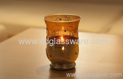 Europe type glass candle holders