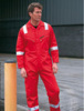 6-oz pyrovatex® industrial fire proof coverall