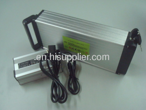 48V10Ah battery pack with rear rack type