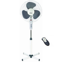 16 inch electric stand fan with remote control