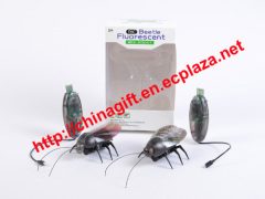 Remote Control Fluorescent Beetle