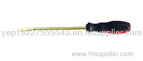 copper alloy slotted screwdriver ,anti spark safety hand tools ,aluminum & beryllium