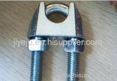 galvanize wire rope clip