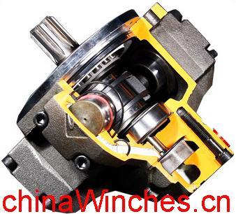 Bignozzi or calzoni low speed high torque radial piston Radial piston hydraulic motor