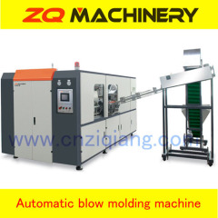 Automatic bottle stretch blow molding machine