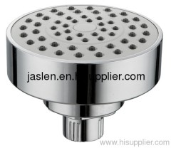 Round and simple one function shower heads