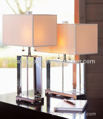 crystal block lamps