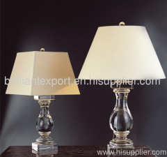 high quality crystal lamp