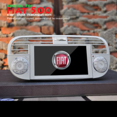 FIAT 500 Navigation DVD With Beautiful Picture OSD 3D Menu