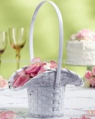 wicker wedding/bridesmaid/flowergirls basket