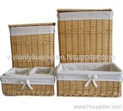 hamper basket/wicker baskets