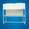 Vertical laminar flow cabinet for clean room products
