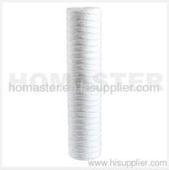 5 micron PP String Wound Water Filter Cartridge 20 inch