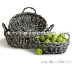 fruit wicker basket