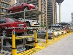 Mini stacking parking equipment