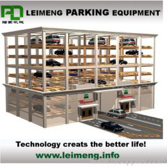 horizontal moving parking equipment