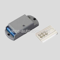 Wireless remote control for automatic doors