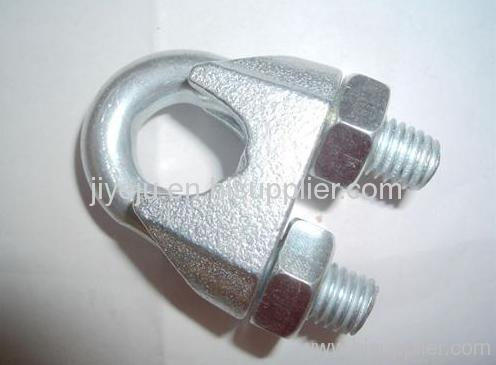 galvanized wire rope clip