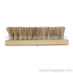 wooden handle vegetable hair industry brush