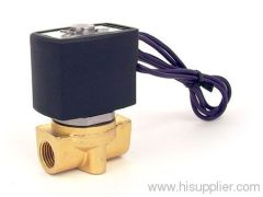 two-position two-way electromagnetic valve