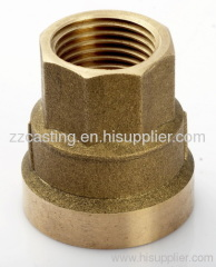 Brass Forged Connector valve parts