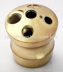 Oxygen bottle closures Forging Brass CNC fittings